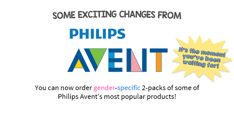Exciting changes from Philips Avent