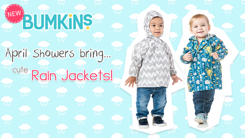 6864abdaf New Bumkins Rain Jackets are Perfect for Travelling! - Kidcentral ...