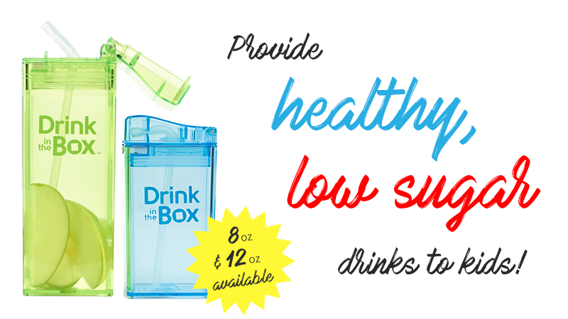 Provide healthy, low sugar drinks to kids