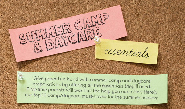 Summer Camp & Daycare Essentials