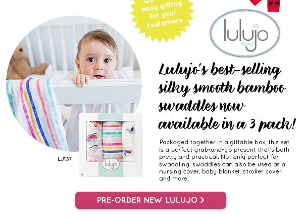Pre-Order new Lulujo