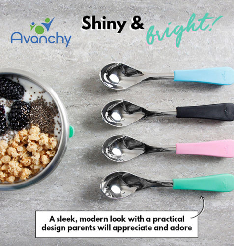 Avanchy stainless steel spoons are here!