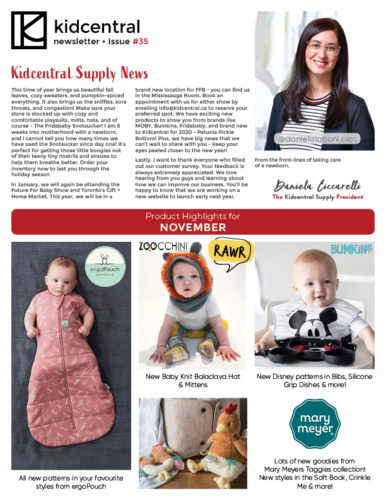 What's happening in Kidcentral Supply this November ✨