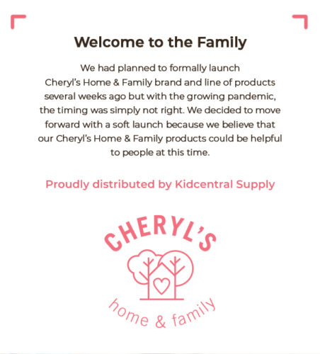 NEW: Cheryl's Home & Family 💖 Arm Here For You 2 makes a great Mother's or Father's Day Gift!